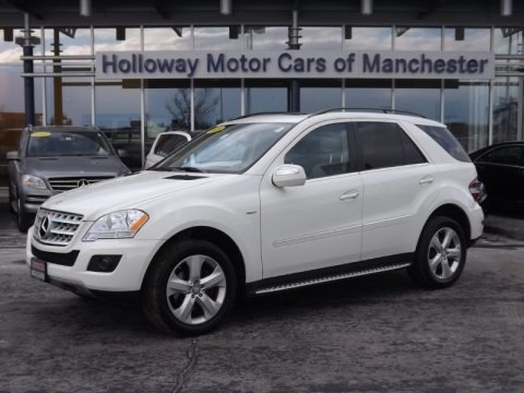 2011 mercedes benz ml 350 bluetec 4matic in arctic white for Holloway motor cars manchester