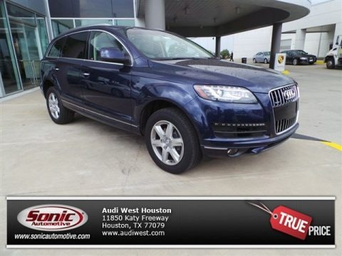 Atlantis Blue Metallic 2015 Audi Q7 3.0 Premium Plus quattro