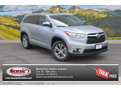 2011 Toyota Highlander Se In Magnetic Gray Metallic
