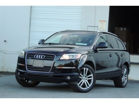 Phantom Black Pearl Effect 2007 Audi Q7 3.6 Premium quattro