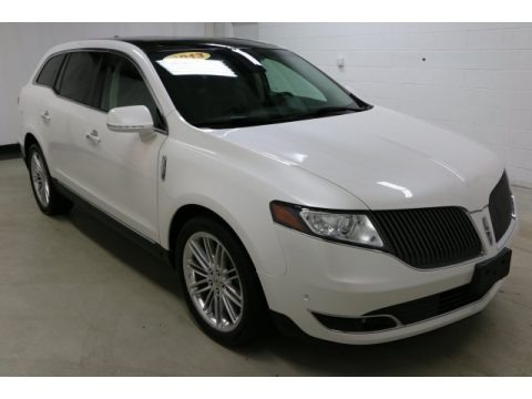 White Platinum 2013 Lincoln MKT EcoBoost AWD