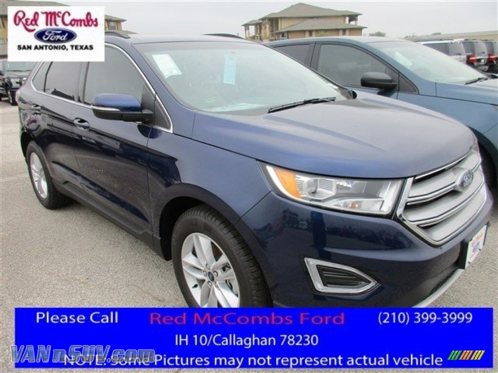 Kona Blue Dune Ford Edge Sel