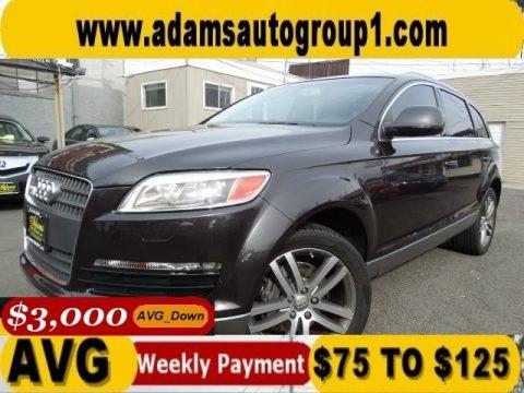 Phantom Black Pearl Effect 2007 Audi Q7 4.2 Premium quattro