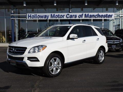 2013 Mercedes Benz Ml 350 4matic In Palladium Silver