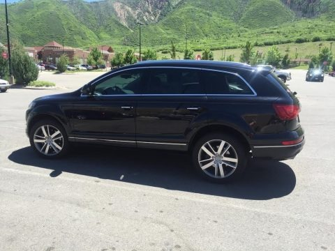 Orca Black Metallic 2012 Audi Q7 3.0 TDI quattro