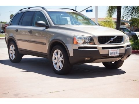 Ash Gold Metallic 2005 Volvo XC90 T6 AWD