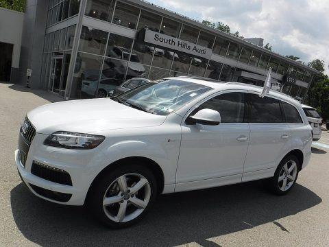 Glacier White Metallic 2014 Audi Q7 3.0 TFSI quattro