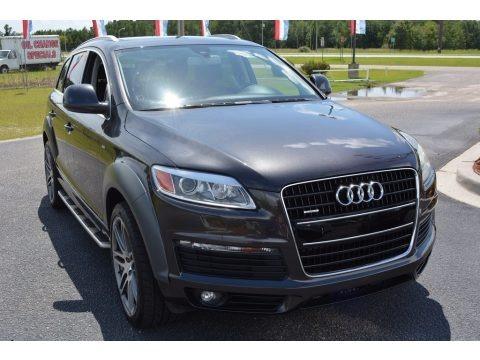 Lava Grey Pearl Effect 2008 Audi Q7 4.2 Premium quattro
