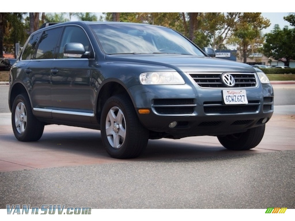 2004 Touareg V6 - Offroad Grey Metallic / Anthracite photo #1