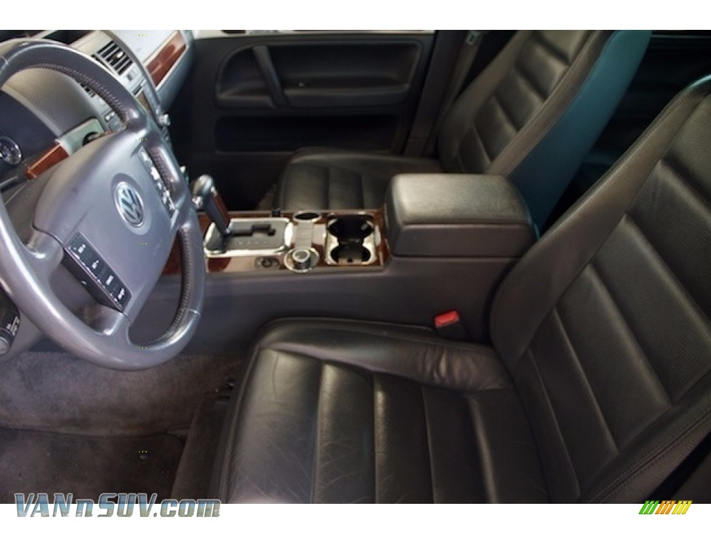 2004 Touareg V6 - Offroad Grey Metallic / Anthracite photo #3