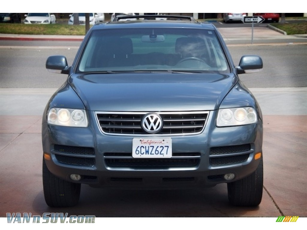 2004 Touareg V6 - Offroad Grey Metallic / Anthracite photo #7
