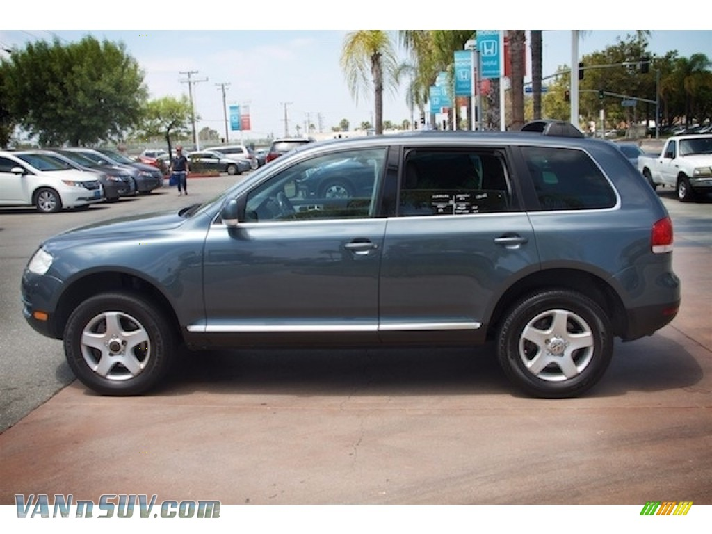 2004 Touareg V6 - Offroad Grey Metallic / Anthracite photo #9