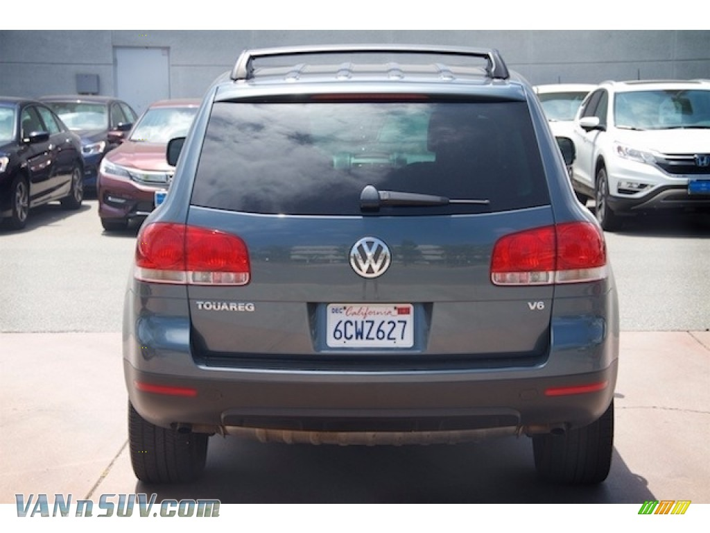 2004 Touareg V6 - Offroad Grey Metallic / Anthracite photo #10
