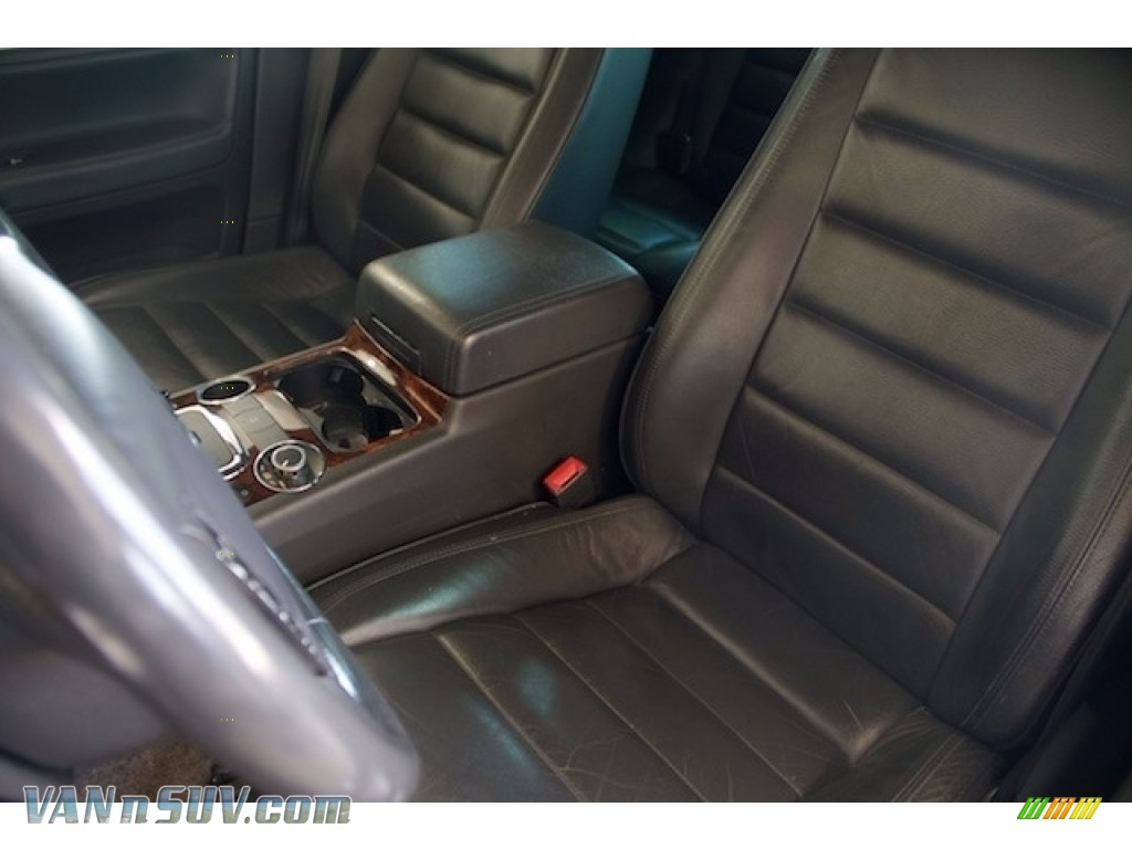 2004 Touareg V6 - Offroad Grey Metallic / Anthracite photo #14