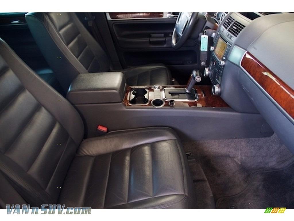 2004 Touareg V6 - Offroad Grey Metallic / Anthracite photo #19