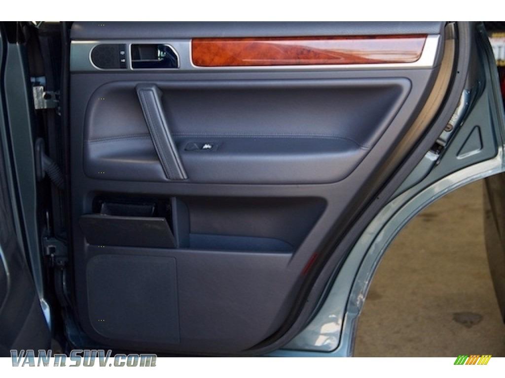 2004 Touareg V6 - Offroad Grey Metallic / Anthracite photo #25