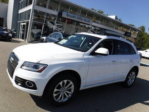 Ibis White 2017 Audi Q5 2.0 TFSI Premium quattro
