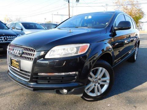 Phantom Black Pearl Effect 2008 Audi Q7 3.6 Premium quattro