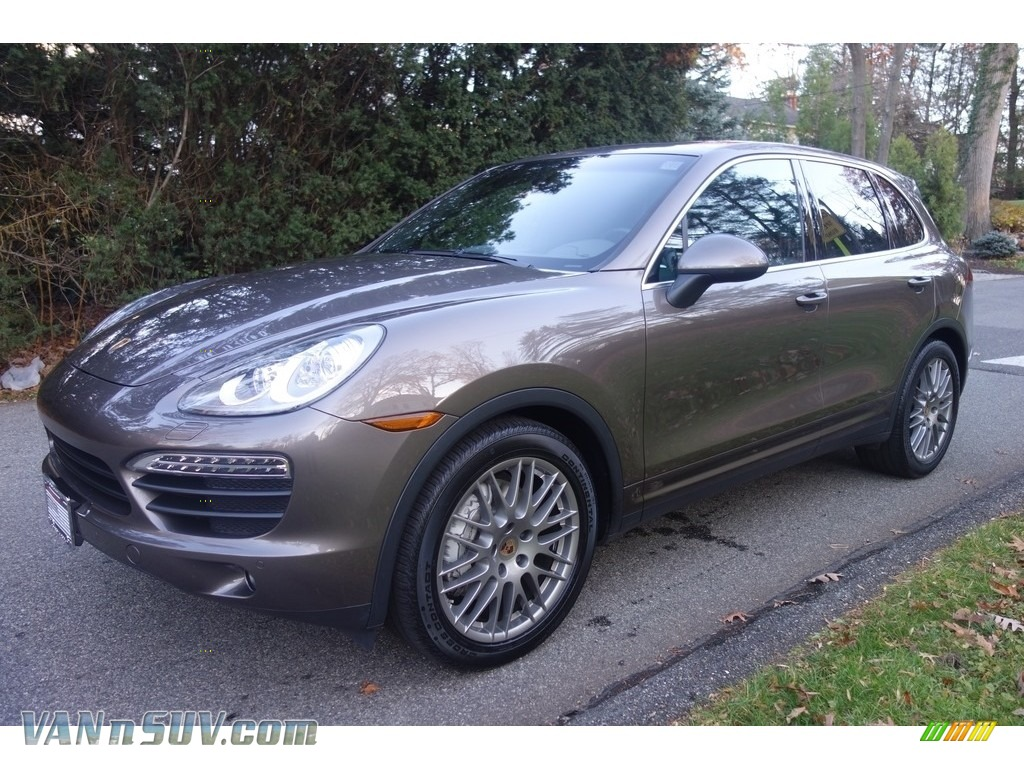 2014 Cayenne S - Umber Metallic / Black photo #1