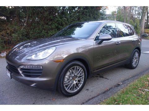 Umber Metallic 2014 Porsche Cayenne S