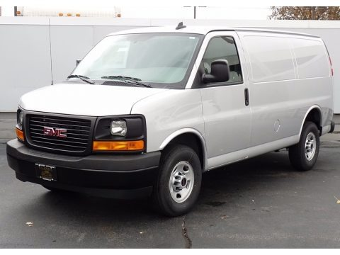 Quicksilver Metallic 2017 GMC Savana Van 3500 Cargo