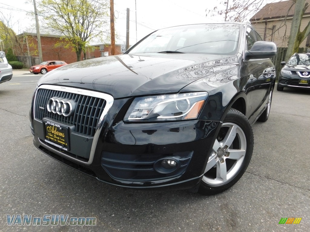 2012 Q5 2.0 TFSI quattro - Brilliant Black / Black photo #1
