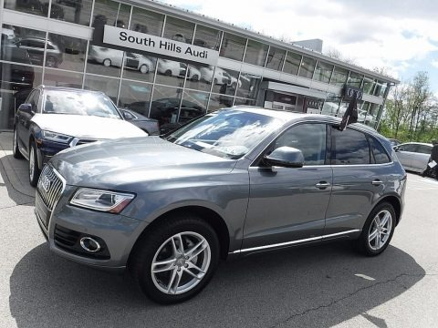 Monsoon Gray Metallic 2017 Audi Q5 2.0 TFSI Premium Plus quattro