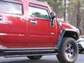 Hummer H2 SUV Red Metallic photo #6