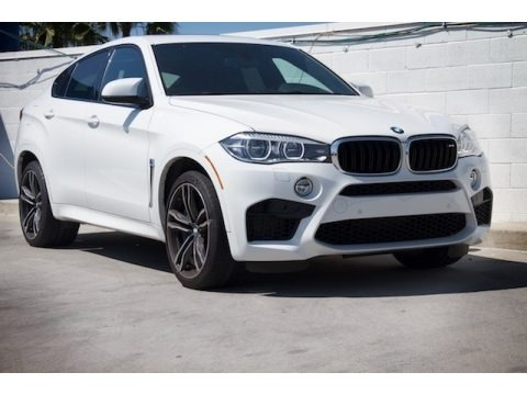 Alpine White 2016 BMW X6 M