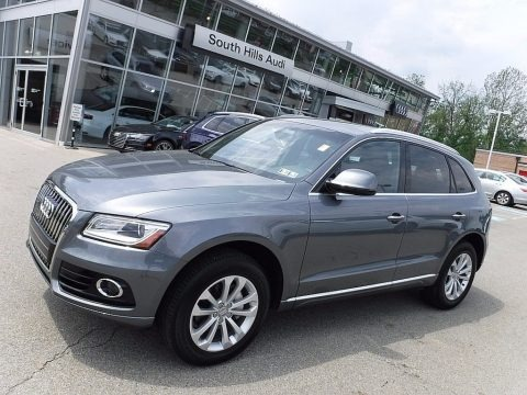 Monsoon Gray Metallic 2017 Audi Q5 2.0 TFSI Premium quattro