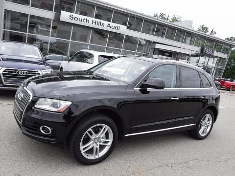 Brilliant Black 2017 Audi Q5 2.0 TFSI Premium Plus quattro