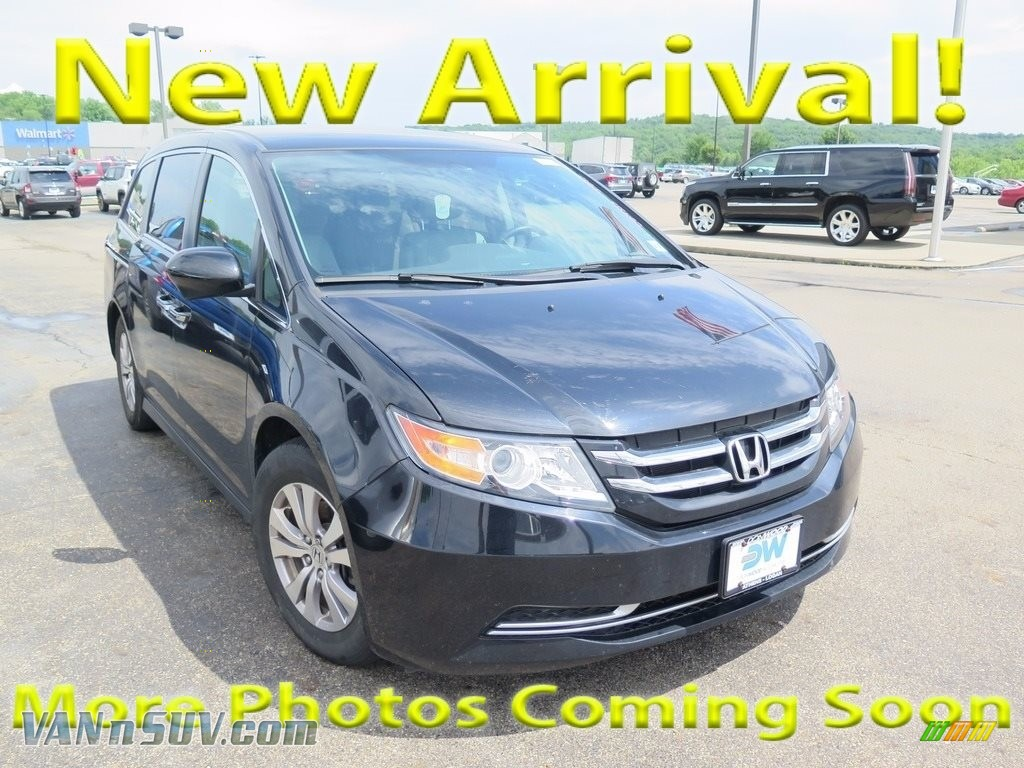 2014 Odyssey EX - Crystal Black Pearl / Gray photo #1