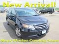 Honda Odyssey EX Crystal Black Pearl photo #1