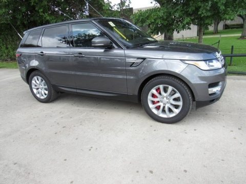 Corris Grey 2017 Land Rover Range Rover Sport Supercharged