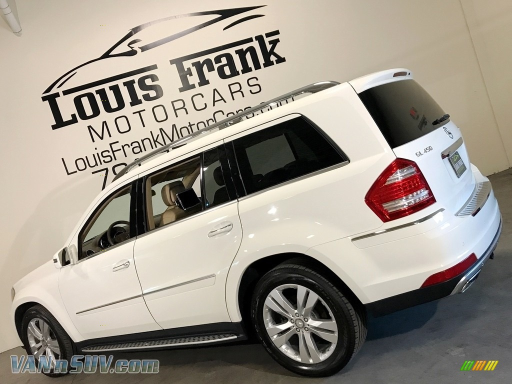 2012 GL 450 4Matic - Arctic White / Cashmere photo #71