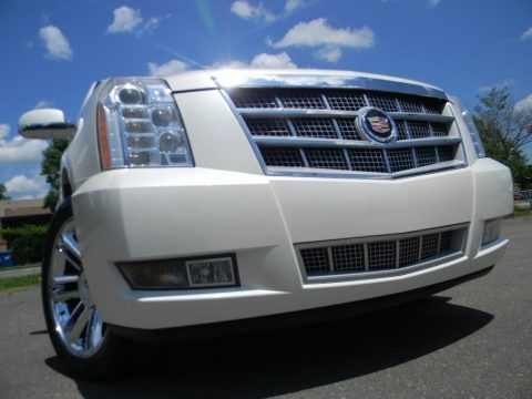 White Diamond 2010 Cadillac Escalade ESV Platinum AWD