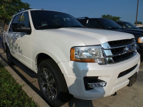 White Platinum 2017 Ford Expedition XLT 4x4