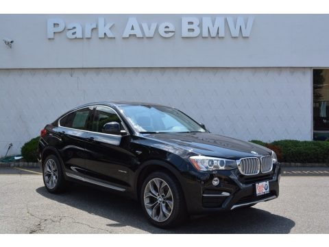 Jet Black 2015 BMW X4 xDrive28i