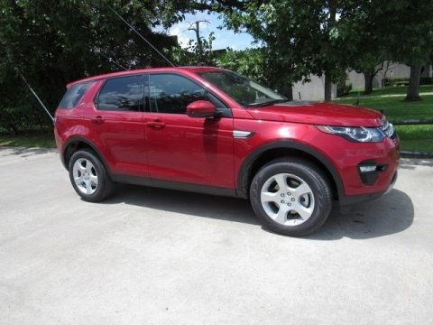 Firenze Red Metallic 2017 Land Rover Discovery Sport HSE