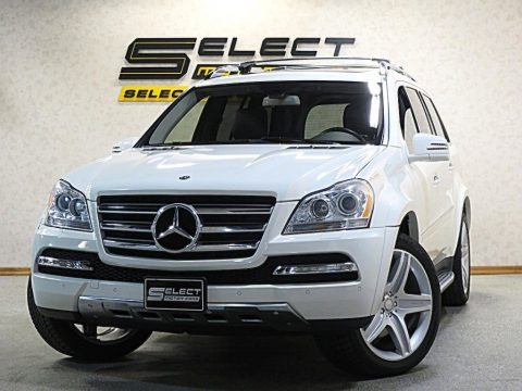 Arctic White 2012 Mercedes-Benz GL 550 4Matic