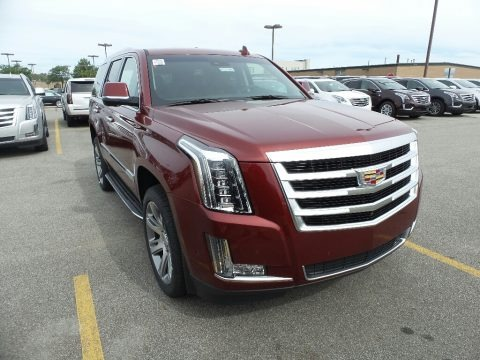 Red Passion Tintcoat 2017 Cadillac Escalade Luxury 4WD