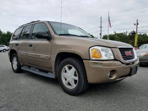 Sandalwood Metallic 2003 GMC Envoy SLE 4x4