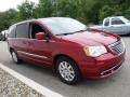 Chrysler Town & Country Touring Deep Cherry Red Crystal Pearl photo #5