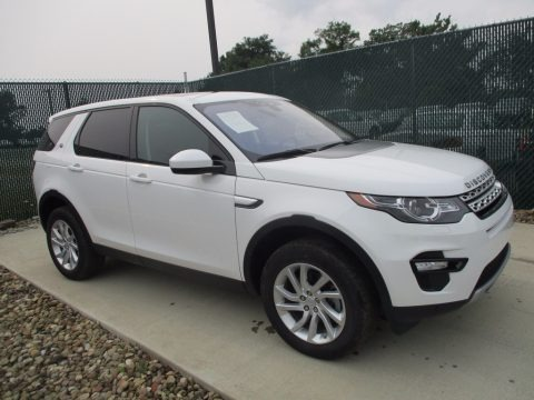 Fuji White 2017 Land Rover Discovery Sport HSE