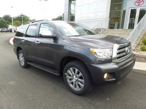 Magnetic Gray Metallic 2017 Toyota Sequoia Limited 4x4
