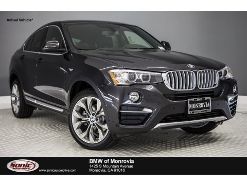 Dark Graphite Metallic 2018 BMW X4 xDrive28i