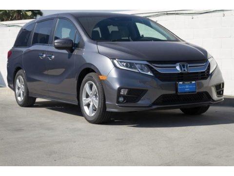 Modern Steel Metallic 2018 Honda Odyssey EX-L