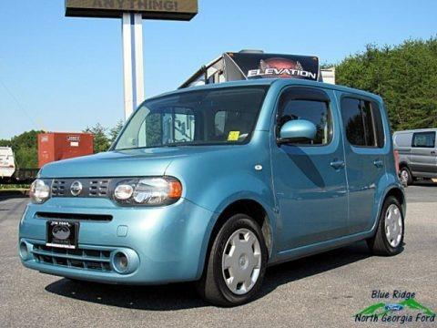 Caribbean Blue Pearl Metallic 2010 Nissan Cube 1.8 S
