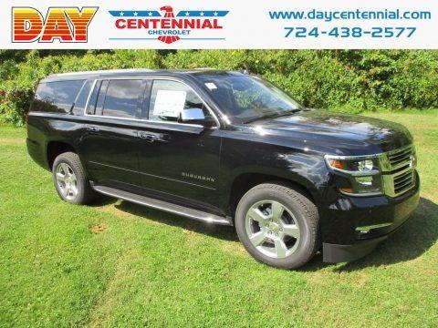 Black 2017 Chevrolet Suburban Premier 4WD
