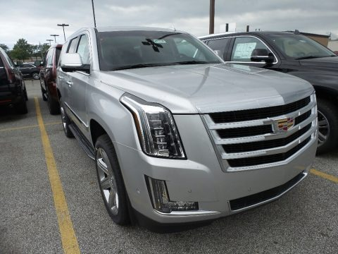 Radiant Silver Metallic 2017 Cadillac Escalade Luxury 4WD